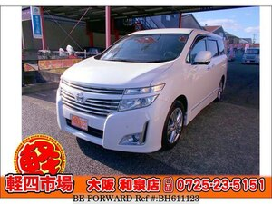 Used 2010 NISSAN ELGRAND BH611123 for Sale
