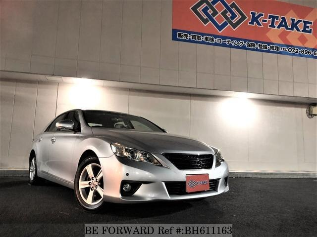Used 2009 TOYOTA MARK X BH611163 for Sale