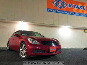 Used 2009 NISSAN SKYLINE BH611165 for Sale