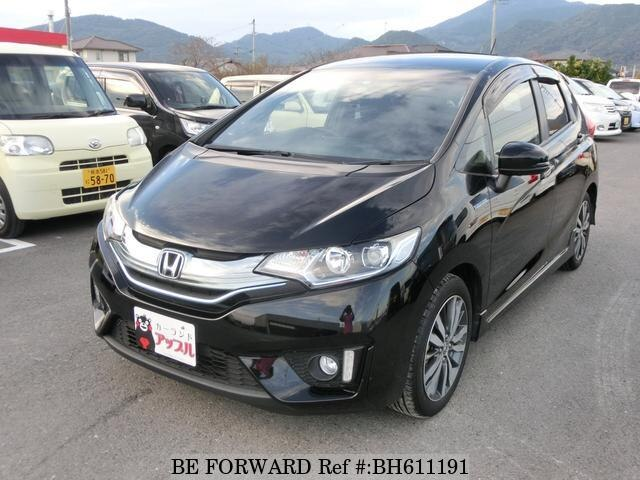 Used 2014 HONDA FIT HYBRID BH611191 for Sale