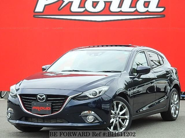 Used 2014 MAZDA AXELA SPORT BH611202 for Sale