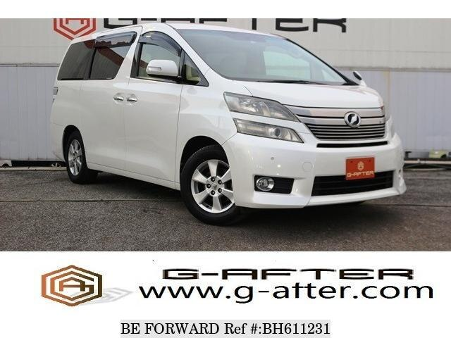 Used 2012 TOYOTA VELLFIRE BH611231 for Sale