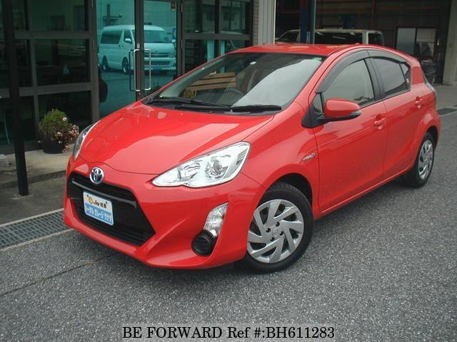 Used 2015 TOYOTA AQUA BH611283 for Sale
