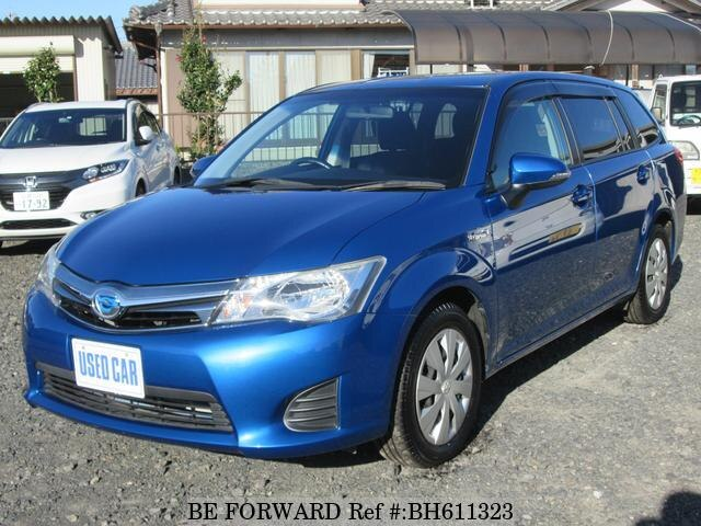 Used 2013 TOYOTA COROLLA FIELDER BH611323 for Sale