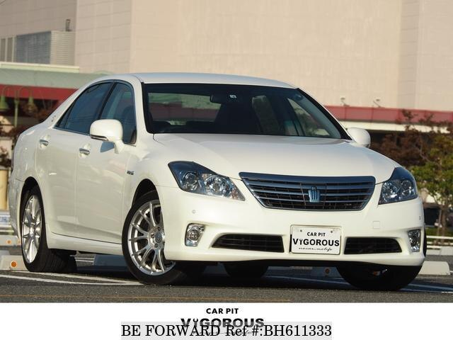 Used 2012 TOYOTA CROWN HYBRID BH611333 for Sale