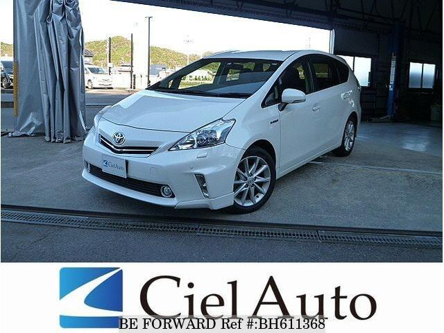Used 2012 TOYOTA PRIUS ALPHA BH611368 for Sale