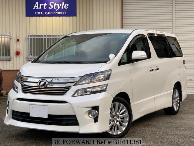 Used 2013 TOYOTA VELLFIRE BH611381 for Sale