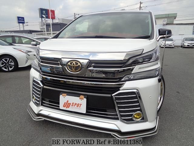 Used 2017 TOYOTA VELLFIRE BH611385 for Sale
