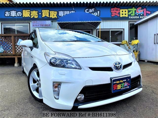 Used 2012 TOYOTA PRIUS BH611398 for Sale