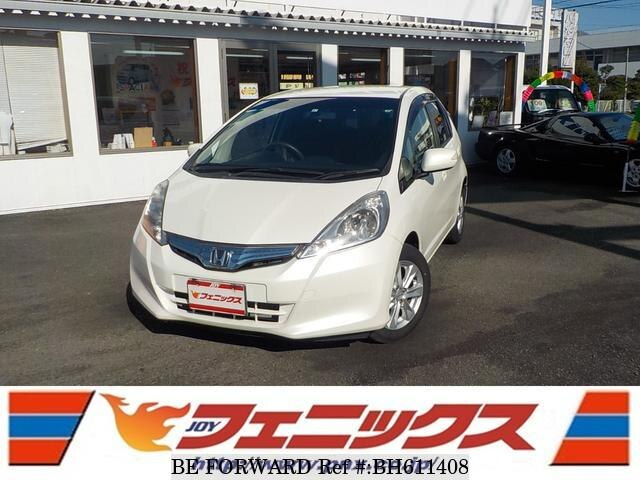 Used 2011 HONDA FIT HYBRID BH611408 for Sale