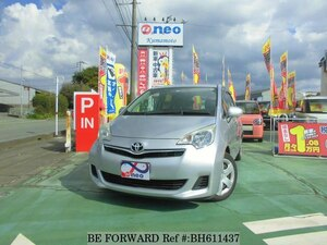 Used 2010 TOYOTA RACTIS BH611437 for Sale