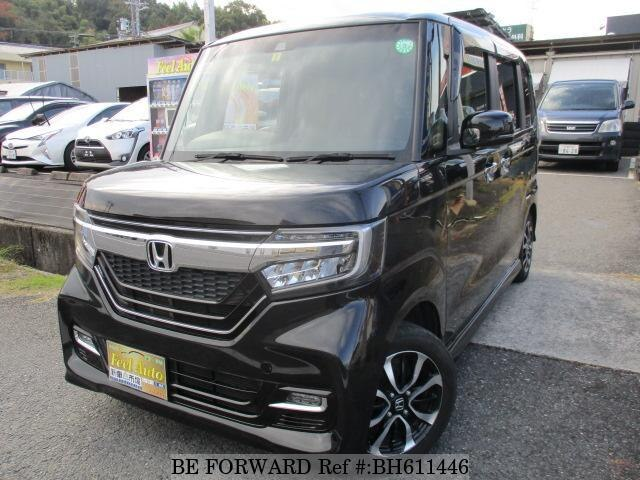Used 2018 HONDA N BOX BH611446 for Sale