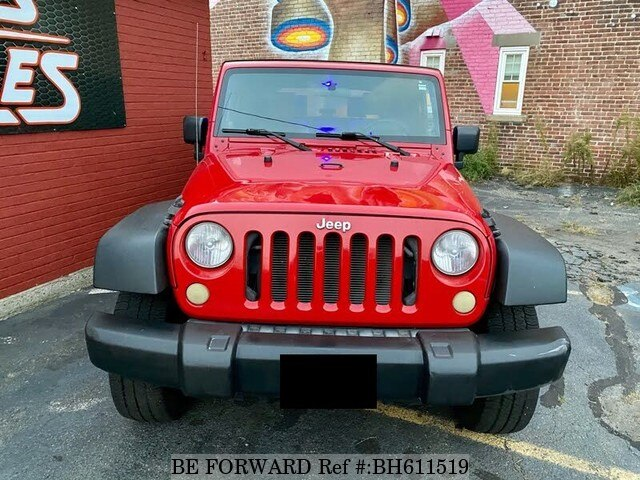 Used 2007 JEEP WRANGLER BH611519 for Sale