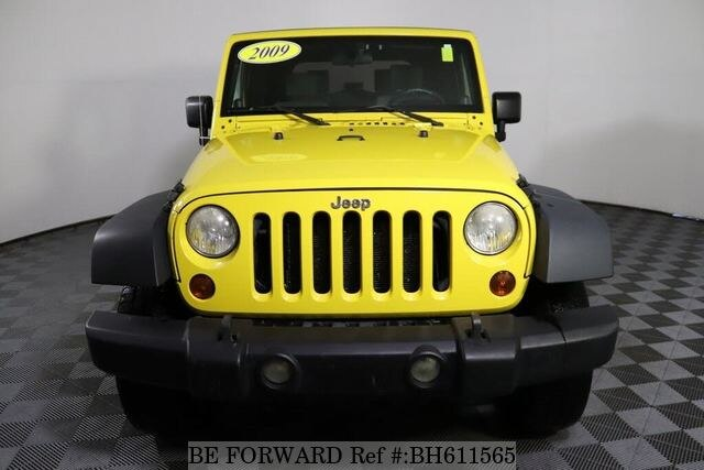 Used 2009 JEEP WRANGLER BH611565 for Sale