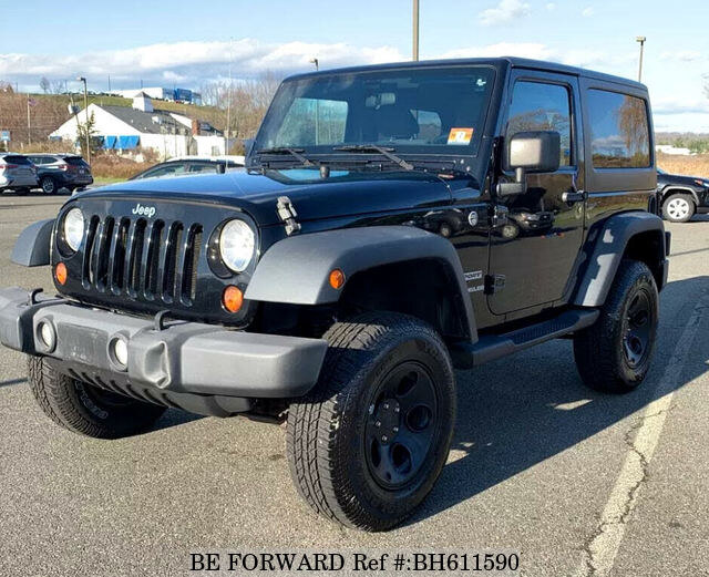 Used 2012 JEEP WRANGLER BH611590 for Sale