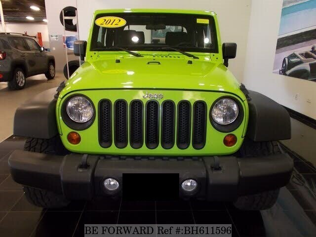 Used 2012 JEEP WRANGLER BH611596 for Sale