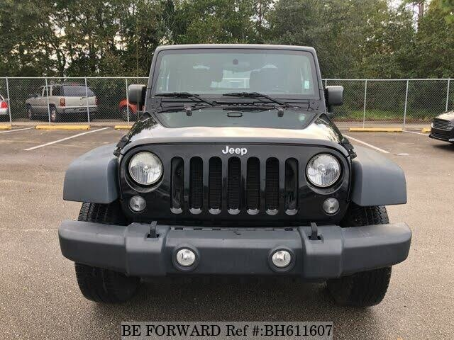 Used 2015 JEEP WRANGLER BH611607 for Sale