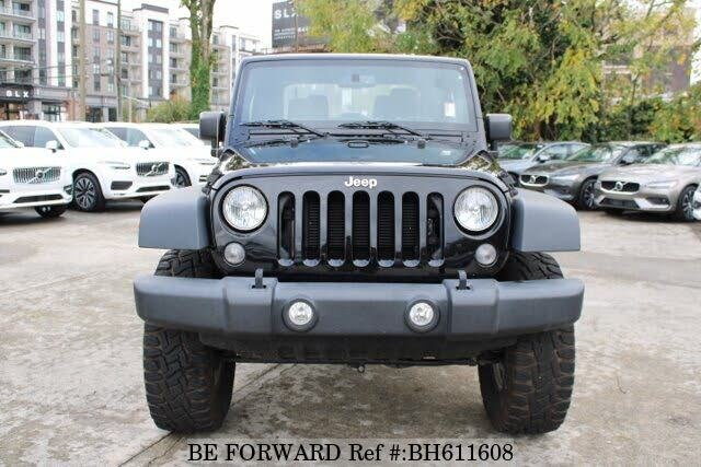 Used 2015 JEEP WRANGLER BH611608 for Sale