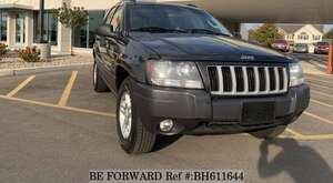 Used 2004 JEEP GRAND CHEROKEE BH611644 for Sale