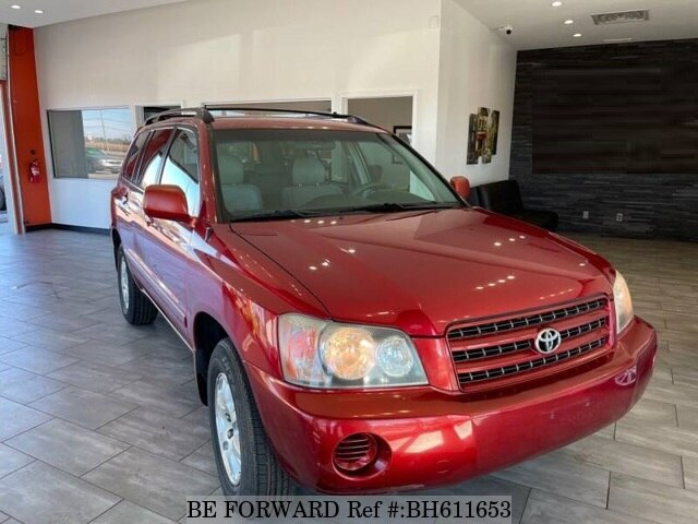 Used 2002 TOYOTA HIGHLANDER BH611653 for Sale