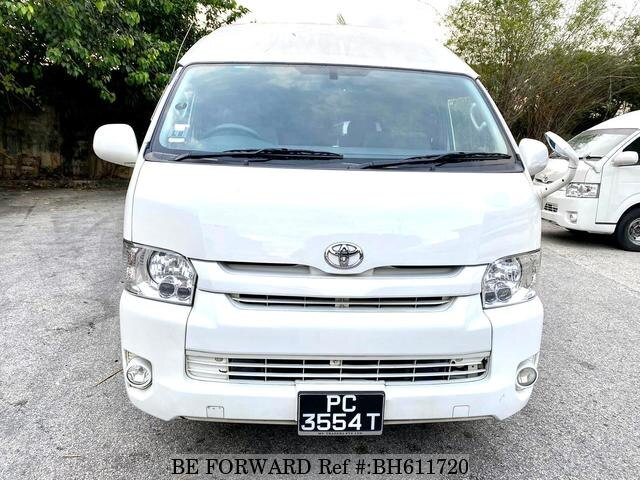 Used 2015 TOYOTA HIACE COMMUTER BH611720 for Sale