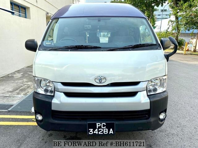 Used 2015 TOYOTA HIACE COMMUTER BH611721 for Sale