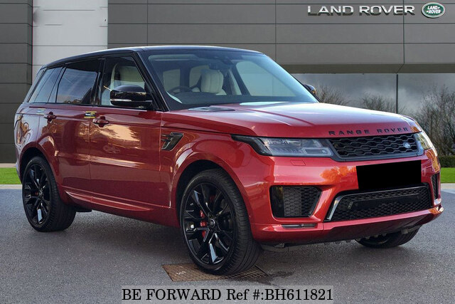 Used 2020 LAND ROVER RANGE ROVER SPORT BH611821 for Sale