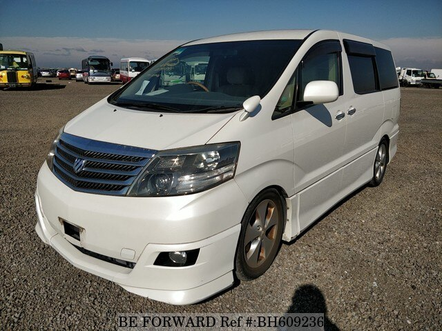 Used 2007 TOYOTA ALPHARD BH609236 for Sale