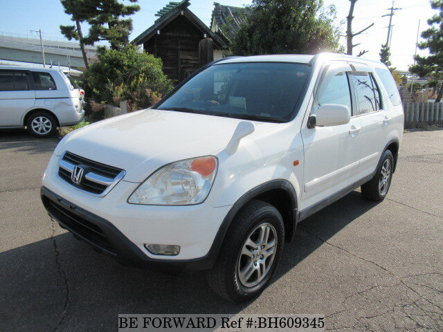 Used 2002 HONDA CR-V BH609345 for Sale