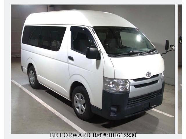 Used 2015 TOYOTA HIACE VAN BH612230 for Sale