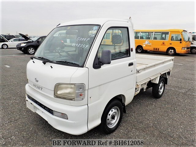 Used 2004 DAIHATSU HIJET TRUCK BH612058 for Sale