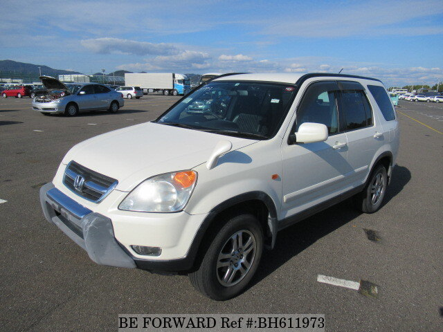 Used 2002 HONDA CR-V BH611973 for Sale