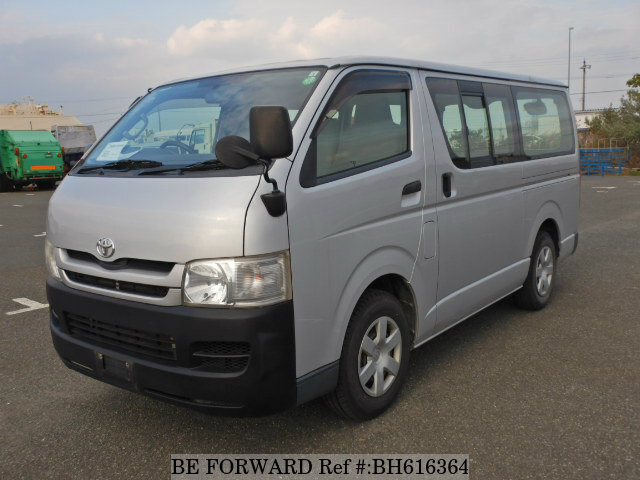 Used 2010 TOYOTA HIACE VAN BH616364 for Sale