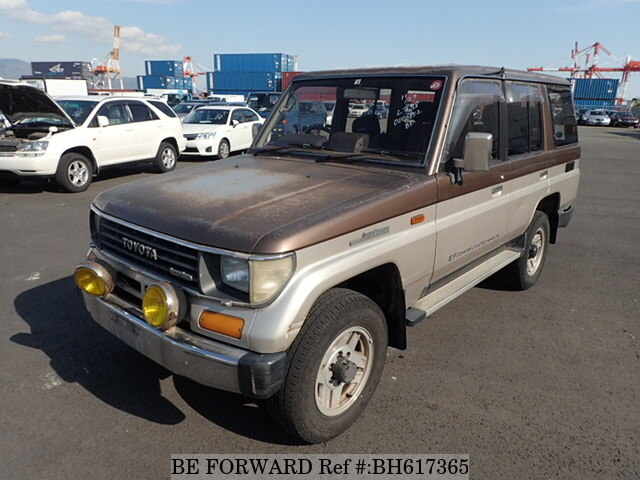 Used 1990 TOYOTA LAND CRUISER PRADO BH617365 for Sale