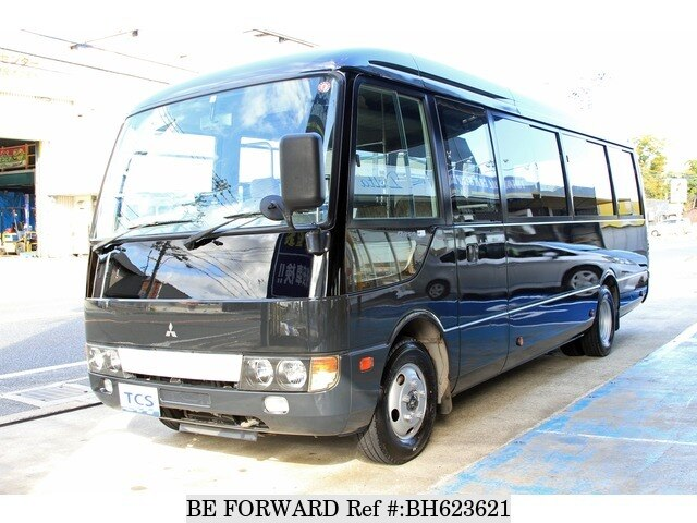Used 2007 MITSUBISHI FUSO ROSA BUS BH623621 for Sale