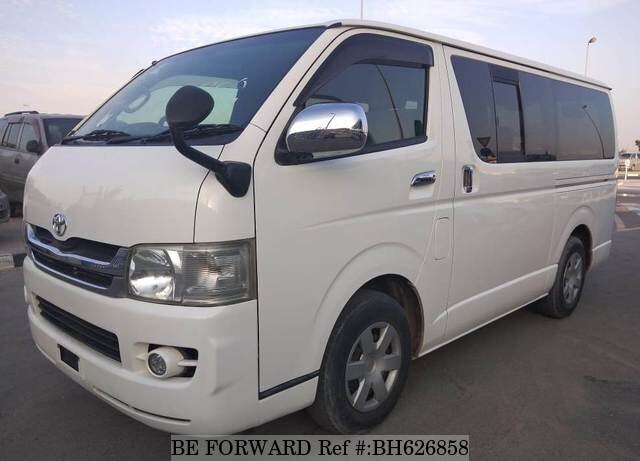 Used 2008 TOYOTA HIACE VAN BH626858 for Sale
