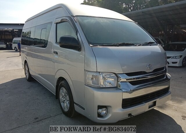 Used 2018 TOYOTA HIACE COMMUTER BG834072 for Sale