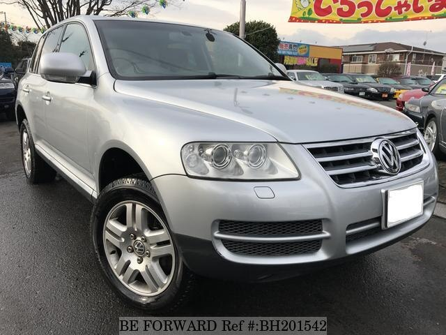 Used 2004 VOLKSWAGEN TOUAREG BH201542 for Sale