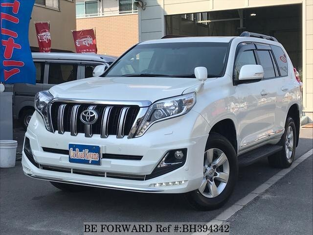 Used 2015 TOYOTA LAND CRUISER PRADO BH394342 for Sale