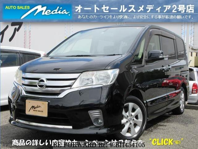 Used 2012 NISSAN SERENA BH454105 for Sale