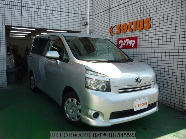 Used 2007 TOYOTA VOXY BH545523 for Sale