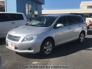 Used 2007 TOYOTA COROLLA FIELDER BH547344 for Sale