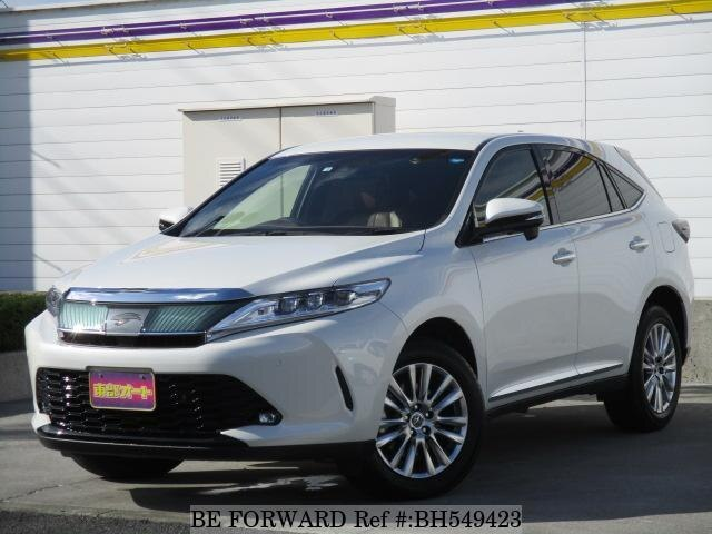 Used 2018 TOYOTA HARRIER BH549423 for Sale