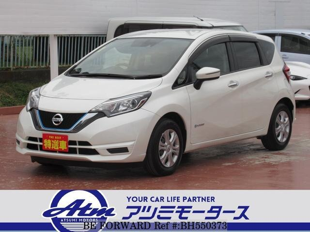 Used 2017 NISSAN NOTE BH550373 for Sale