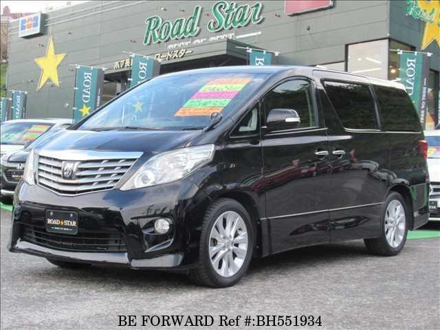 Used 2010 TOYOTA ALPHARD BH551934 for Sale