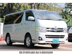 Used 2012 TOYOTA HIACE VAN BH552499 for Sale