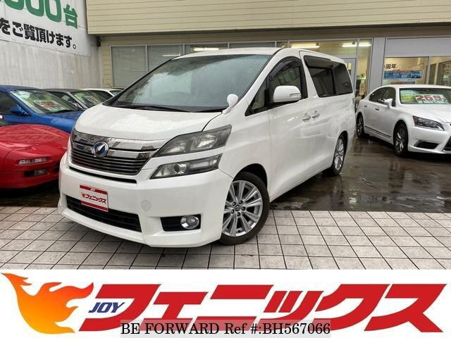 Used 2013 TOYOTA VELLFIRE BH567066 for Sale