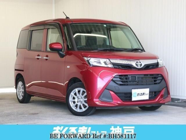 Used 2017 TOYOTA TANK BH581117 for Sale