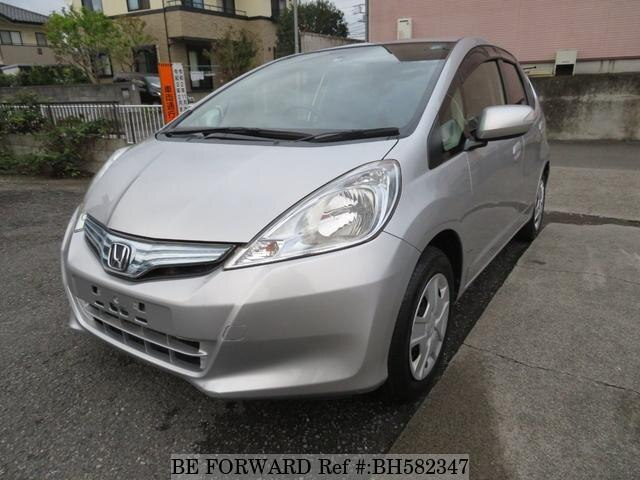 Used 2011 HONDA FIT HYBRID BH582347 for Sale