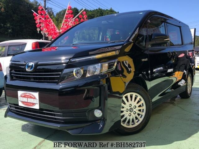 Used 2015 TOYOTA VOXY BH582737 for Sale